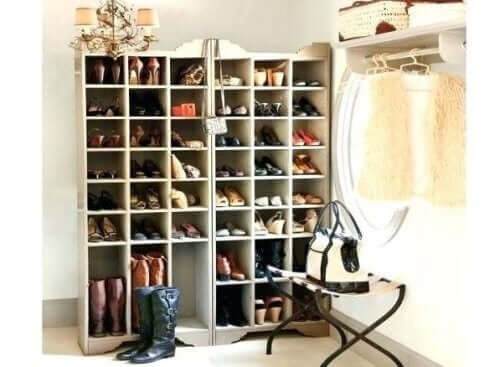 Рафтове за обувки: направете си сами, бързо и лесно