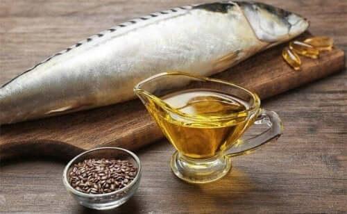 Рибата е богата на омега-3 мастни киселини.