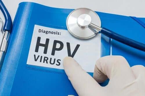 Човешкият папилома вирус: знак с тази диагноза на английски език