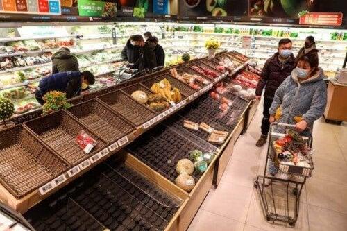 Паниката за пазаруване поражда още паника.