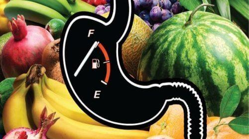 Скоростта на хранене: снимка на плодове и рисунка на стомаха