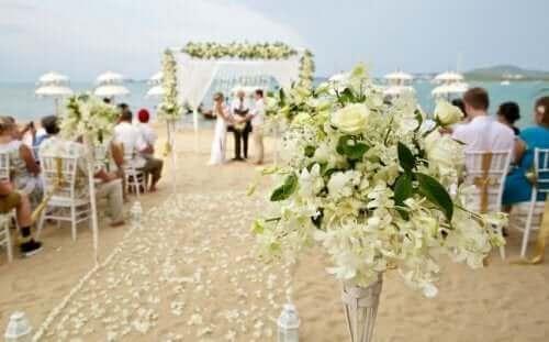 Флаш сватба: сватба на открито