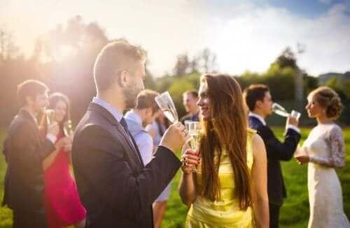 Сватбени гости
