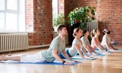 Йогата е чудесен начин да раздвижите тялото си.
