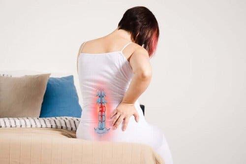 болка в областта на гръбначния стълб