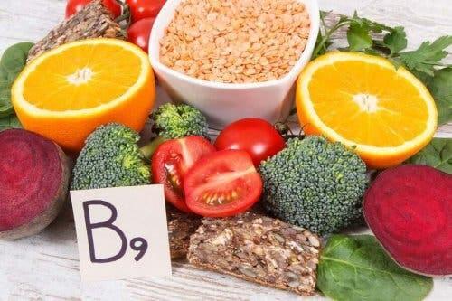 Плодове богати на витамин В9