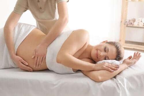 Жена с продромални контракции