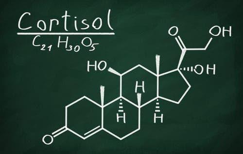 Химическа формула на кортизол