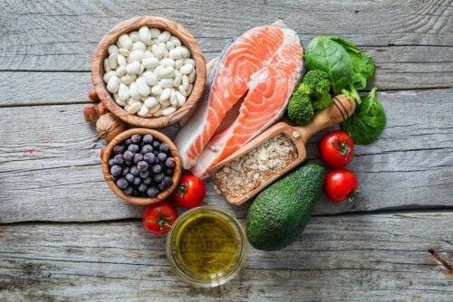 Диетични варианти: сьомга и здравословни храни