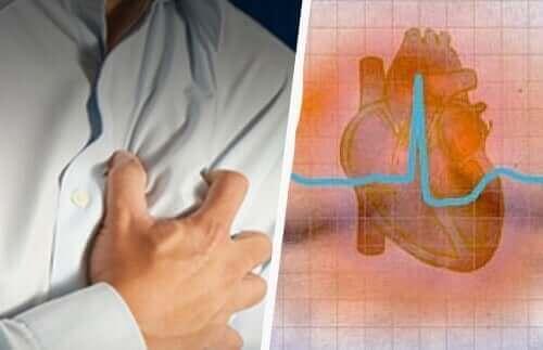 Колаж от две схеми на сърце