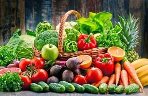 За контролиране на псориазиса: Плодове и зеленчуци различни видове