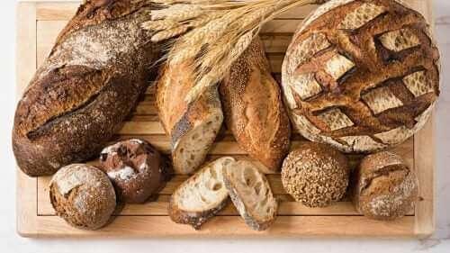 Нисковъглехидратен хляб: снимка на различни видове такъв хляб