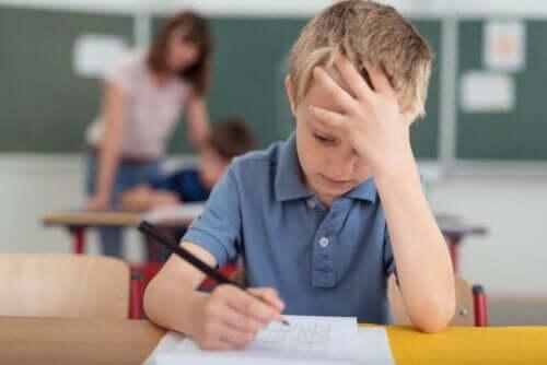 Мигрена при децата и ходене на училище