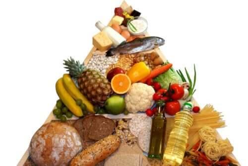 Хранителна пирамида - различните групи храни
