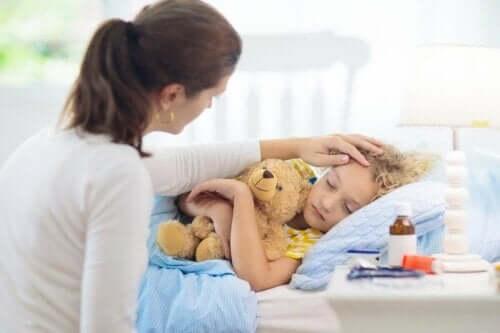 Уртикарията при децата - симптоми и лечение