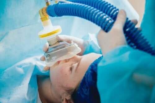Пациент под обща анестезия