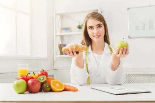 Здравословни храни и една жена
