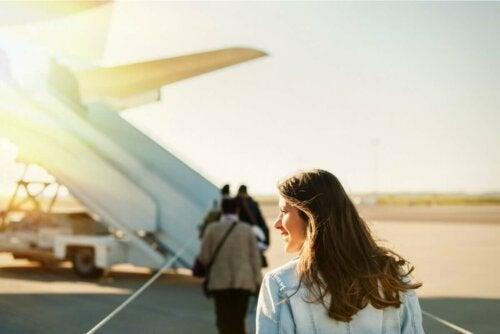 Баротит и пътуване със самолет