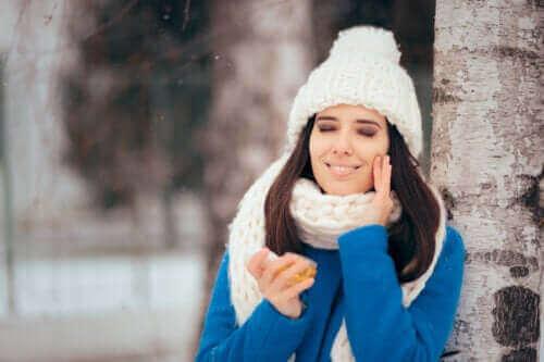 Зимният режим за мазна кожа
