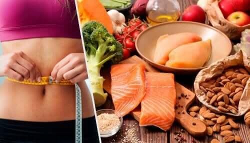 Кетонната или кето диета: колаж с различни видове храни