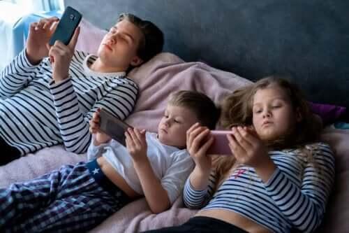 Прекомерното екранно облъчване при децата