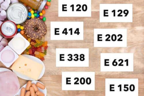 Какви видове хранителни добавки има?