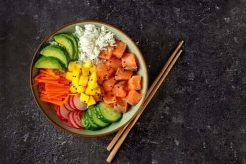 Вегетарианско поке